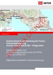 Allgemein verständliche Zusammenfassung - Dialogforum Feste ...