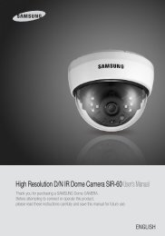 High Resolution D/N IR Dome Camera SIR ... - Balter Security