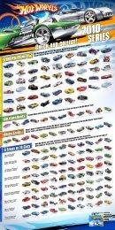2010 HW Premiere 9 Series of 10 Cars Track Stars ... - Hot Wheels
