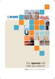 Annual Report 2007 - MARG Group