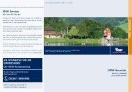 VKW Haushalt. VKW Service. 24 Stunden f