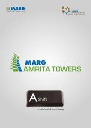 MARG Amrita Towers Brochure - MARG Swarnabhoomi