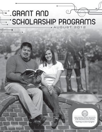 grant and scholarship programs - Oklahoma State Regents for ...