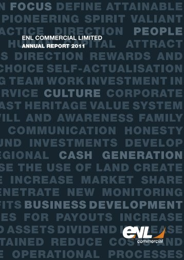 enl commercial limited annual report 2011 - Investing In Africa