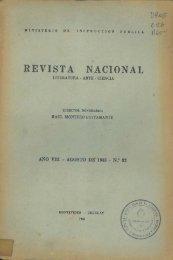 ago. 1945 - Publicaciones Periódicas del Uruguay
