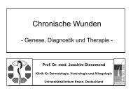 Chronische Wunden s/w - Universitätsklinikum Essen
