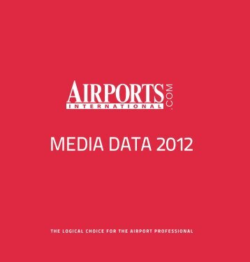 Airports International Website Media Pack 2012
