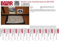 Medion Color Flachbett Scanner MD 9705 - Bazar.at