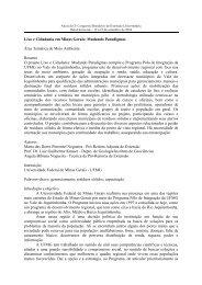 Lixo e Cidadania em Minas Gerais: Mudando Paradigmas ... - UFMG