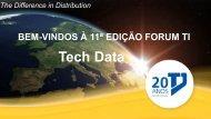 Tech Data: Uma Companhia global