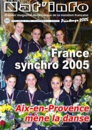 Nat'info Printemps 2005 - Fédération Française de Natation