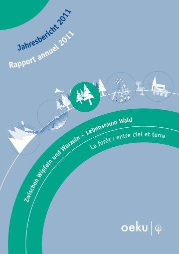 Jah sb eri t 0 Rapport l 2011 - oeku Kirche und Umwelt