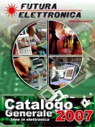 Catalogo - Futura Elettronica