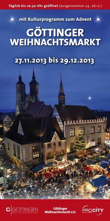 27.11.2013 bis 29.12.2013 - Pro City GmbH