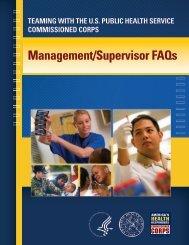Management/Supervisor FAQs - Commissioned Officers Association