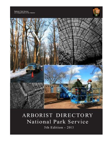 Download the Arborist's Directory - National Center for Preservation ...