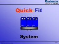 Quick-Fit System - Buderus