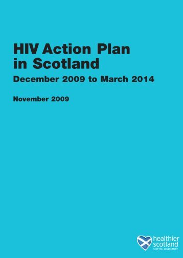 HIV Action Plan in Scotland - Scottish Government