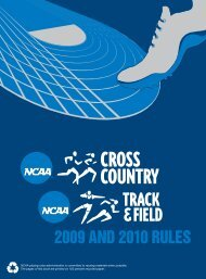 2009 and 2010 NCAA Cross Country Track and ... - USA Track & Field