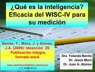 ¿Qué es la inteligencia? Eficacia del WISC-IV para su medición