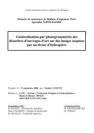 Rapport de stage - Pages perso - LCPC