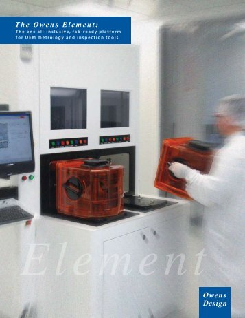 Element Brochure - Owens Design