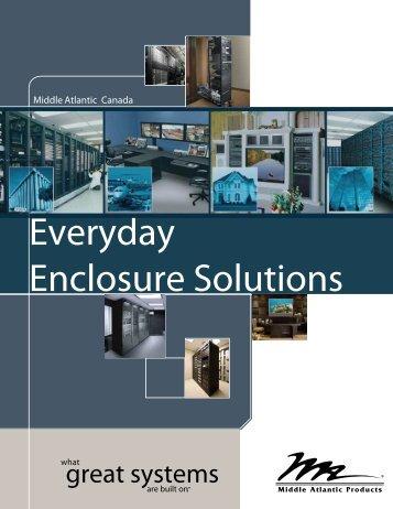 2012-13 everyday enclosure brochure - Middle Atlantic