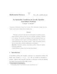 An Optimality Conditione for Locally Lipschitz semi-infinite Problems