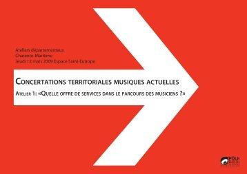 le dossier documentaire (Charente-Maritime) - Concertations ...