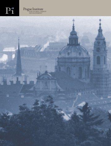 Prague Institute brochure - Global Urban Development