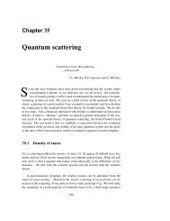 Quantum scattering - Chaos: Classical and Quantum