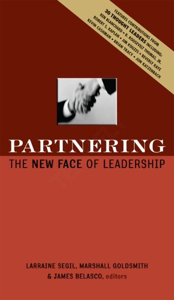 Partnering - The New Face of Leadership - Saigontre