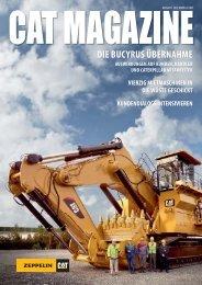 Cat Magazine 1/2012 - Zeppelin Österreich GmbH