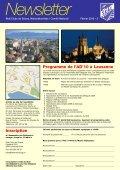 Newsletter 2010 - Skal International Switzerland - Page 2
