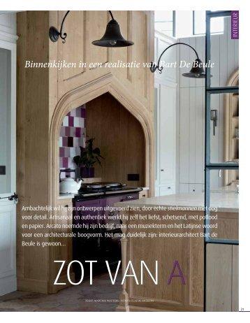 Binnenkijken in een realisatie van Bart De Beule - Claerhout Interiors