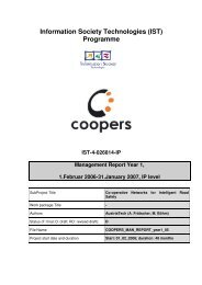 Information Society Technologies (IST) Programme - Coopers