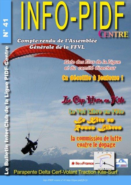 N°41 - Ligue Paris Ile de France de Vol Libre - FFVL