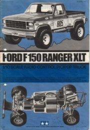 Tamiya Ford F150 Ranger XLT - Wheelsacademy.info