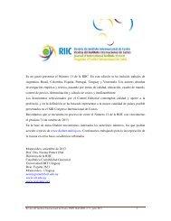 R. Presentación - Revista Digital del Instituto Internacional de Costos