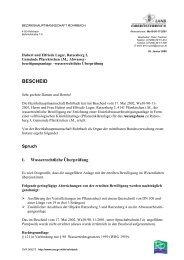 BESCHEID - Fischereirevier Rohrbach
