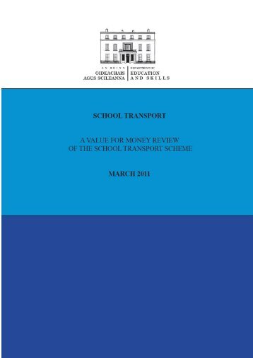 Chapter 1 - Department of Education and Skills