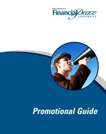 PROMOTE! Promotional Guide - The Dave Ramsey Show