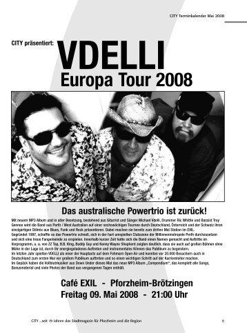 Europa Tour 2008 - CITY Stadtmagazin