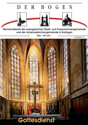 Gottesdienst - Evangelische Stadt- und Frauenkirchengemeinde ...