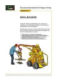 Faktablad om brolægning - BAR Bygge & Anlæg
