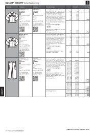 MASCOT® CONCEPT Arbeitskleidung 6KFPU 6KFPU 9KGPU ...
