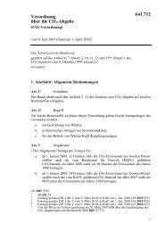 Verordnung über die CO2-Abgabe 641.712 - admin.ch