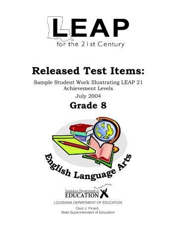 Louisiana Leap Test Study Guide 8th Grade