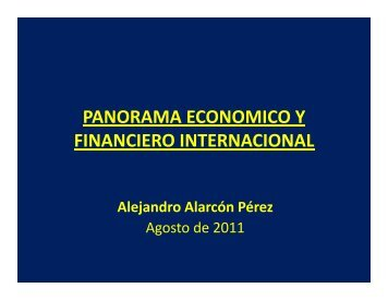 panorama economico y financiero internacional - Chile como ...