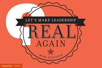to get your free ChangeThis Leadership - thoughtLEADERS, LLC